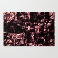 Silk - Bronze Wash Canvas Print