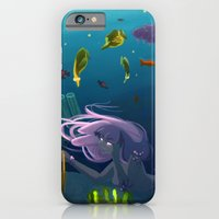 iPhone & iPod Case featuring Deep Blue by Shana Marie
