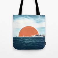 Shipping Sun Tote Bag