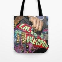 LET IT ROCK BABE - Weapon Tote Bag