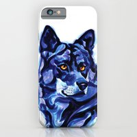 Blue Wolf iPhone 6 Slim Case
