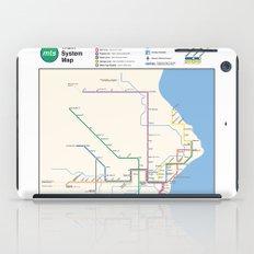 Milwaukee Transit System Map iPad Case