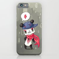 iPhone & iPod Case featuring Panda 4 by Freeminds