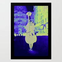 Musical Choice Art Print