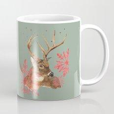 Forest Royalty, Stag, Deer, Christmas Stag, Woodland animals Mug