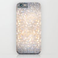 iPhone Cases featuring Glimmer of Light (Ombré Glitter Abstract) by soaring anchor designs