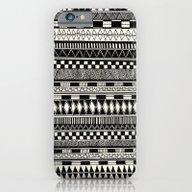 Black//white iPhone 6 Slim Case