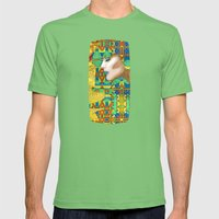 Nouveau Girl Mens Fitted Tee Grass SMALL