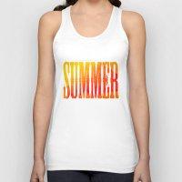 Summer Heat  Unisex Tank Top