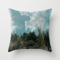 In The Cool Of The Eveni… Throw Pillow