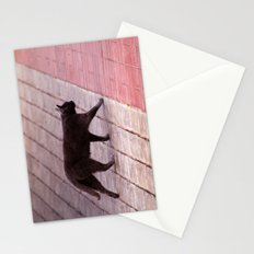 Cat Walking  6589 Stationery Cards