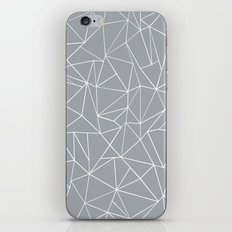 Abstraction Outline Grey iPhone & iPod Skin