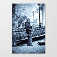 Saxin Canvas Print
