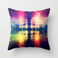 Bokeh Prism  Throw Pillow