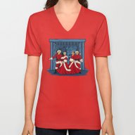 May Your Days Be Merry A… Unisex V-Neck