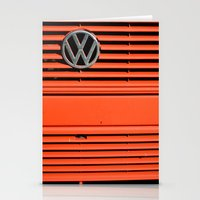 Red Volkswagen Stationery Cards