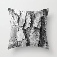 Bark 2 Revisited Throw Pillow