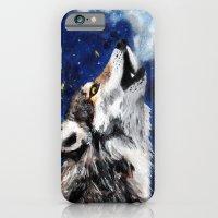 Wolf's breath iPhone 6 Slim Case