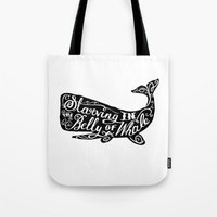 Starving In The Belly Of… Tote Bag