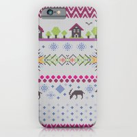 Winter Knitting iPhone 6 Slim Case
