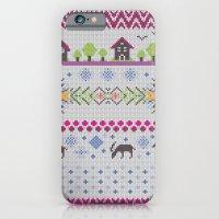 Winter Knitting iPhone 6 Slim Case
