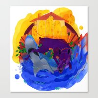 Friend & Foe Canvas Print