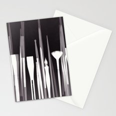 Paintbrush Photogram Stationery Cards