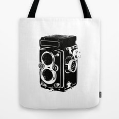 Analog power Tote Bag