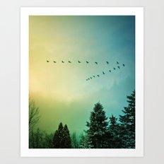 Rise Above It Art Print
