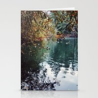 Heavenly Pond In Frankli… Stationery Cards