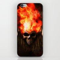 Ghost Rider iPhone & iPod Skin