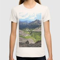 Willow Lakes Womens Fitted Tee Natural SMALL