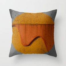 The Wall's Sun Throw Pillow