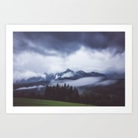 Weather break Art Print