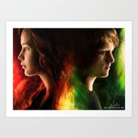 The Tributes Art Print