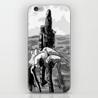 Black Lagoon (B&W)... iPhone & iPod Skin