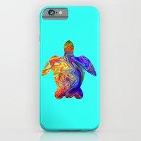 Psychedelic Sea Turtle iPhone 6 Slim Case