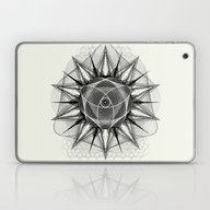 Laptop & iPad Skin featuring Styr Stryy Monochrome by Spires