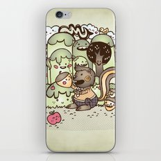 Happy Squirrel iPhone & iPod Skin