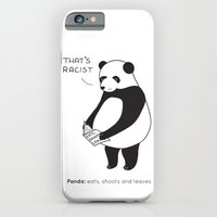 Pandas Not Guns iPhone 6 Slim Case