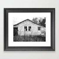 Houseghost 21 Framed Art Print