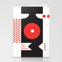 King of the Mountains, Abstract 1 Stationery Cards