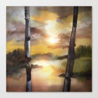 Calling The Sun XVII Canvas Print