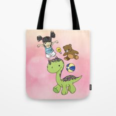 Child Imagination Tote Bag