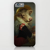 iPhone & iPod Case featuring Cow #2 by ARJr