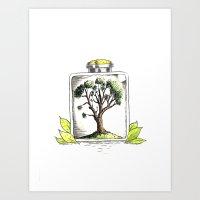 Nature On Display Art Print