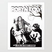 Robin, A Friend Of Mine Art Print