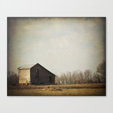 Pastoral with Barn Canvas Print