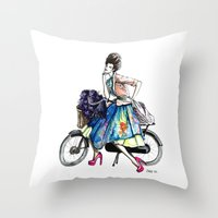 Moda Italia Throw Pillow