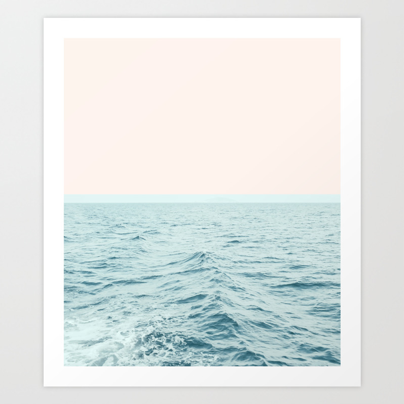 Popular Pale Blue Art Prints Society6